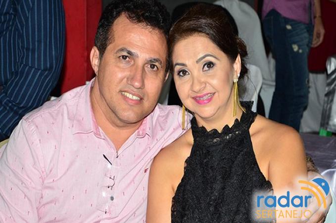 Manuel Vicente e Jane Araruna